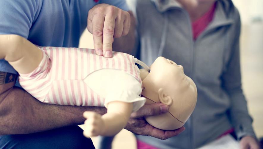 Taller gratuito de primeros auxilios para niños y lactantes   Agosto 2017