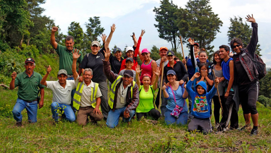 Guatemaltecos realizarán limpieza y camping en Tecpán, Chimaltenango
