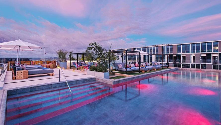 Hermosas piscinas en terraza que querr s conocer en guatemala - Hotel a pejo con piscina ...