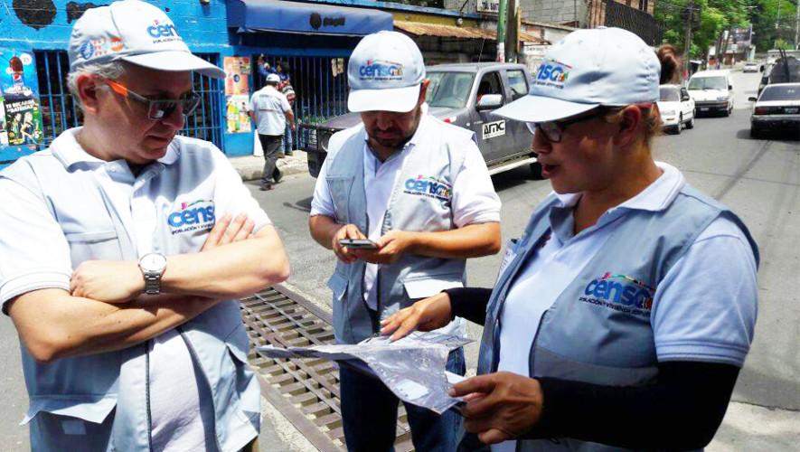 INE ofrece oportunidad de empleo para el censo en Guatemala, junio 2017