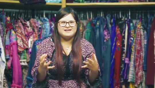 Isabella Springmuhl protagoniza el cortometraje Down With Music
