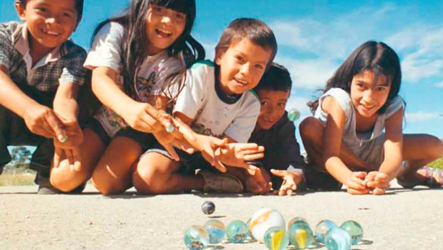 Juego Cuántos de estos 20 juegos chapines de la infancia recuerdas