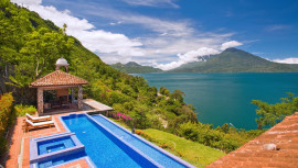 La belleza de Casa Palopó en Atitlán destaca en Heraldo Leader