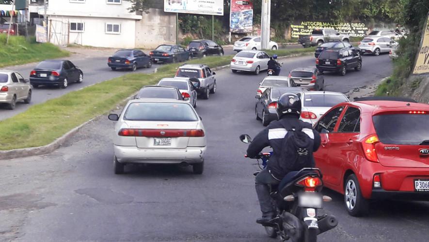 Nuevo Horario de los carriles reversibles en Villa Nueva, agosto 2017