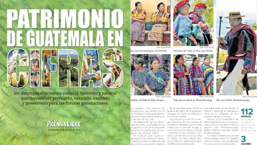Revista Patrimonio de Guatemala en Cifras destaca lo mejor del país