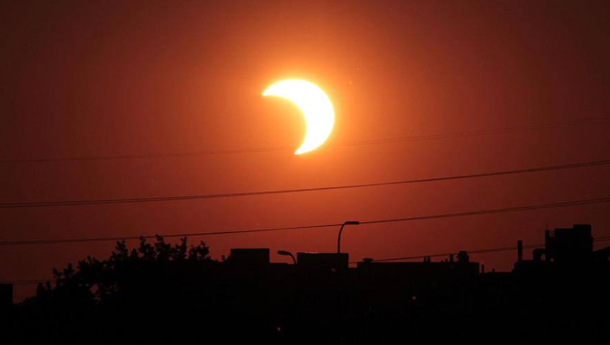 Transmisión en vivo del Eclipse Solar Total 2017 desde Guatemala