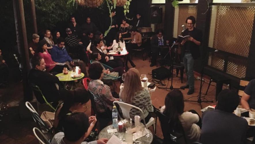 Noche de micrófono abierto en El Mercadito de Lola zona 15 | Agosto 2017