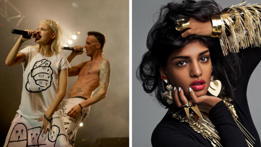 Noche de música de Die Antwoord y M.I.A en SOMA   Septiembre 2017