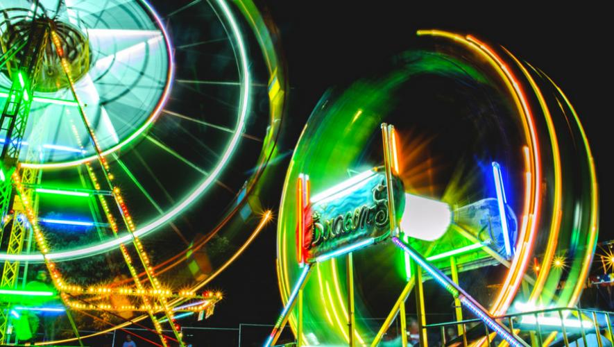Taller de fotografía nocturna en Feria de Jocotenango | Agosto 2017