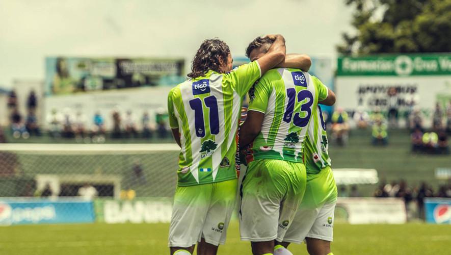 Partido de Antigua vs Sanarate por el Torneo Apertura  Agosto 2017