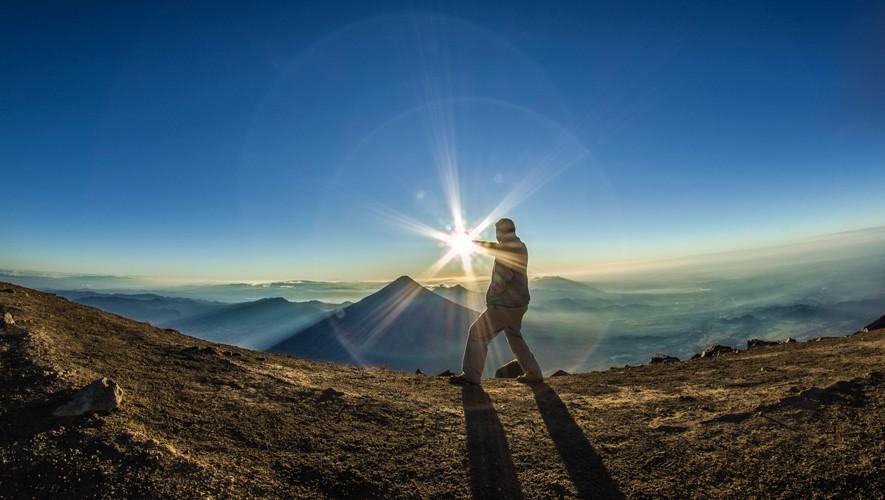 Ascenso de un día al Volcán Acatenango   Agosto 2017