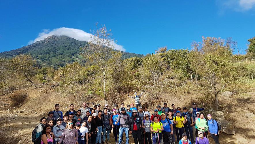 Ascenso dominical a Volcán de Agua | Agosto 2017