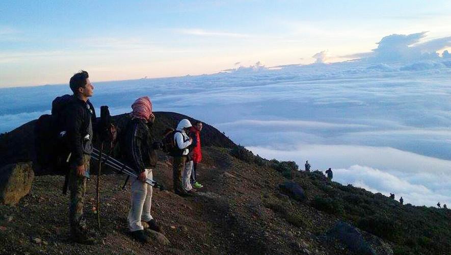 Ascenso nocturno al volcán Acatenango | Agosto 2017