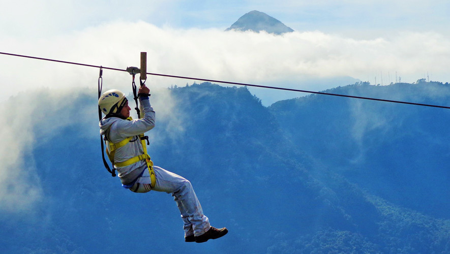 Tour Quetzaltenango: Ascenso a volcán Siete Orejas y canopy| Agosto 2017