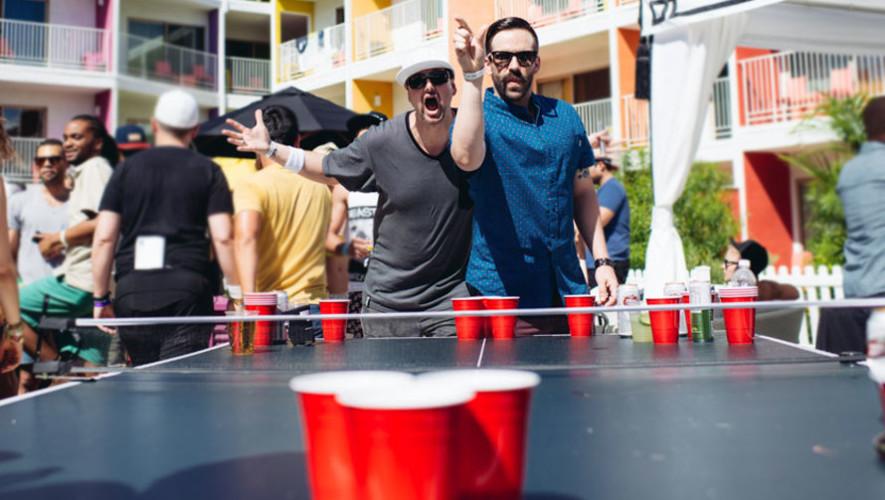 Torneo de beer pong en Guatemala | Agosto 2017