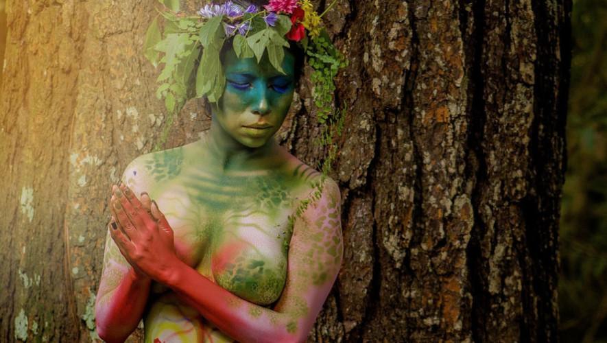 Tercer festival de body paint en el Centro Histórico  Agosto 2017
