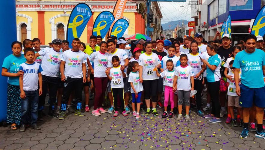 Caminata Familiar 3k Que Vivan Los Niños en Sanarate | Agosto 2017