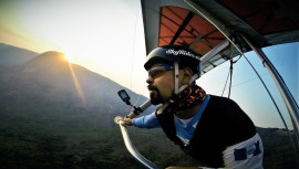 El piloto cobanero se encuentra en Brasil compitiendo ante los mejores del mundo. (Foto: Carlos Alvarado)
