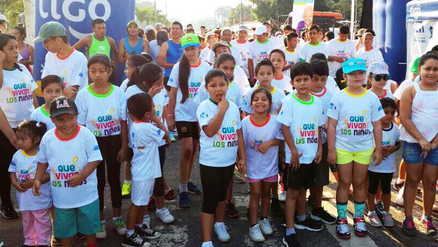 Carrera Familiar 5K Que Vivan Los Niños en Chiquimulilla  Agosto 2017