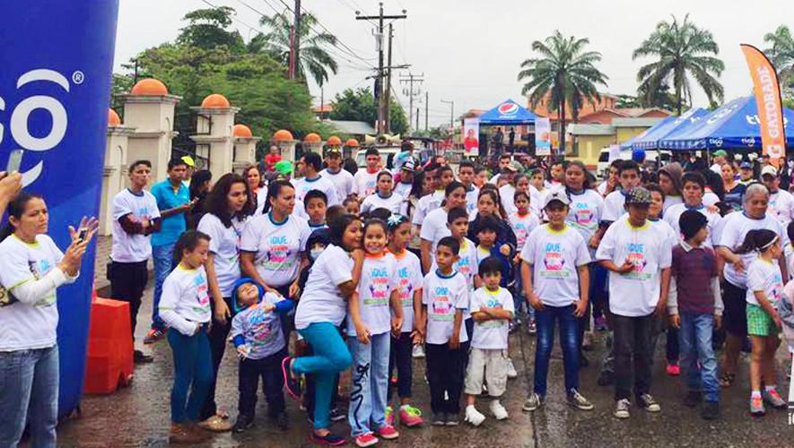 Carrera Familiar 5K Que Vivan Los Niños en Izabal| Agosto 2017