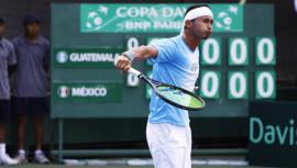 En su segunda final en Colombia, Díaz se proclamó subcampeón en dobles. (Foto: Javier Herrera / Rackets & Golf)