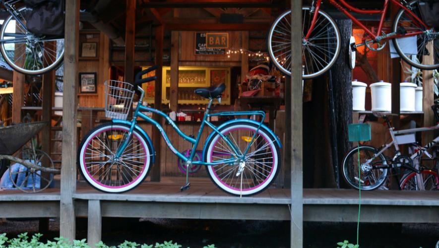 Colazo familiar en bicicleta de Saúl L'Ostería   Agosto 2017