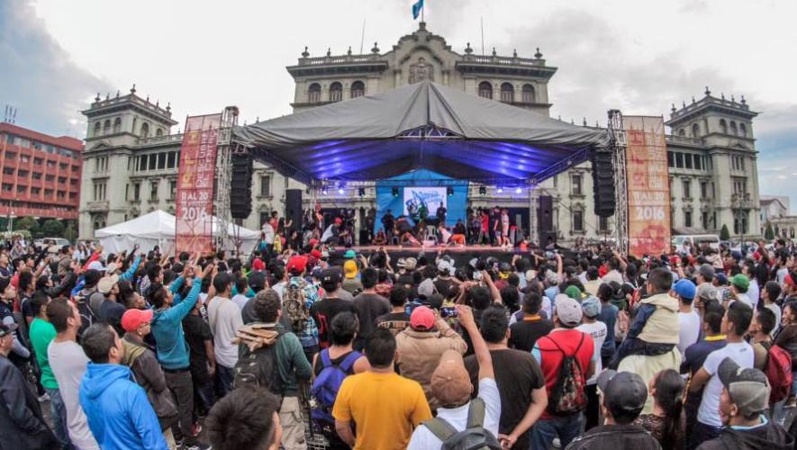 Concierto gratuito en Parque Central de Guatemala   Agosto 2017