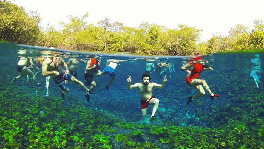 Viaje a Cráter Azul, Tikal, El Remate e Isla de Flores en Petén | Septiembre 2017