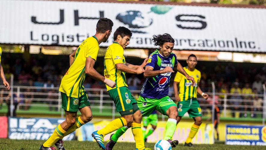 Partido de Guastatoya vs Antigua por el Torneo Apertura| Agosto 2017