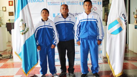Guatemala se encuentra representada por dos luchadores en el Panamericano a nivel escolar. (Foto: CDAG)