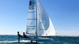 Los veleristas guatemaltecos tendrán su primera oportunidad para conseguir su clasificación a los Juegos Olímpicos de Tokio 2020. (Foto: Cortesía de Jason Hess)