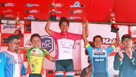 Gabriela Soto ganó su primera Vuelta Femenina a Guatemala, sacando ventaja de más de 9 minutos sobre las demás competidoras. (Foto: CDAG)