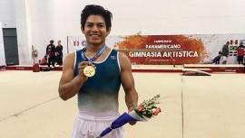 Jorge Vega nuevamente confirmó su título como uno de los mejores gimnastas de América. (Foto: COGuatemalteco)