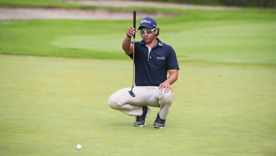 El máximo representante del golf guatemalteco es favorito para llevarse el título en el Abierto Paraguayo. (Foto: Enrique Berardi/PGA TOUR)