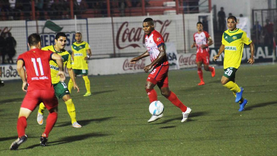 Partido de Malacateco vs Petapa por el Torneo Apertura  Septiembre 2017