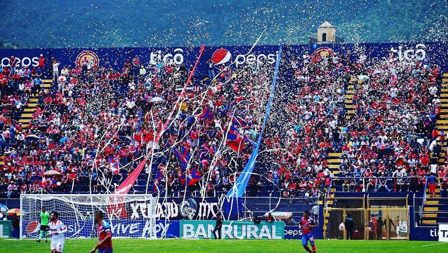 Partido de Xelajú vs Sanarate por el Torneo Apertura  Agosto 2017