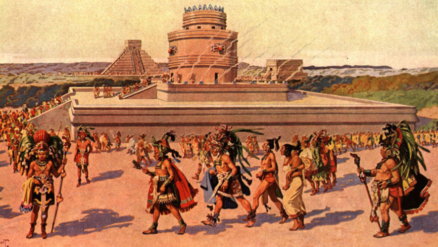 Charla sobre enigmas de la civilización maya   Agosto 2017