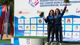 Las dos guatemaltecas repitieron el bronce obtenido durante el Mundial del 2014, celebrada en la misma ciudad de Budapest. (Foto: UIPM)