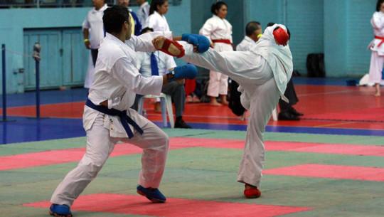 Más de 300 karatecas de todo el país demostraron sus habilidades sobre el tatami del Gimnasio Alfonso Gordillo. (Foto: CDAG)