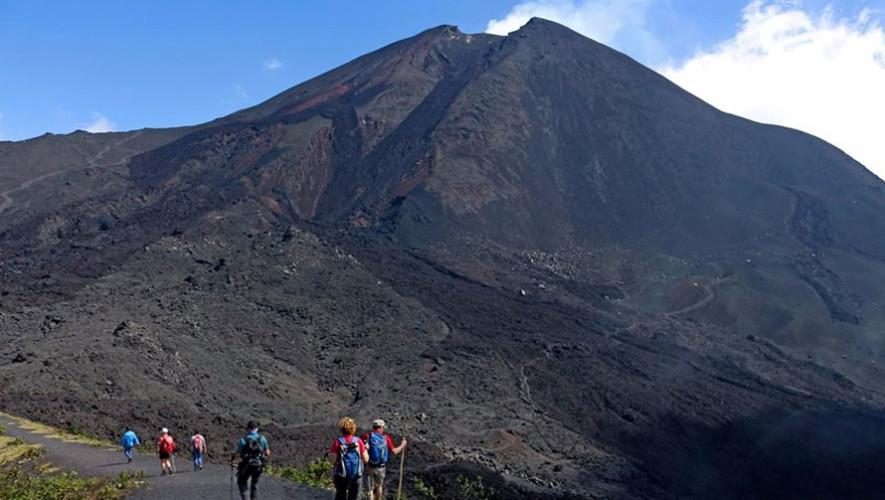 Ascenso de un día al volcán Pacaya   Agosto 2017
