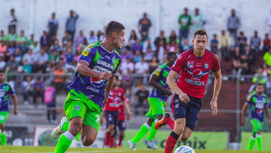 Partido de Antigua vs Xelajú por el Torneo Apertura| Agosto 2017