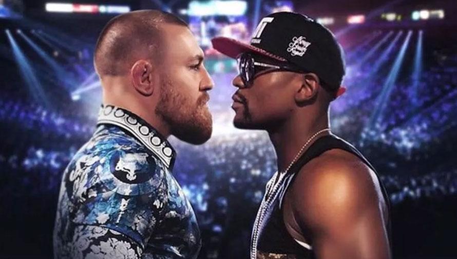 Proyección de la pelea de Mayweather vs McGregor