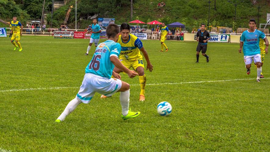 Partido de Sanarate vs Cobán por el Torneo Apertura  Septiembre 2017