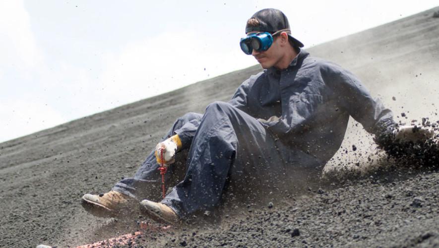 Viaje para realizar sandboarding en Volcán Pacaya | Noviembre 2017
