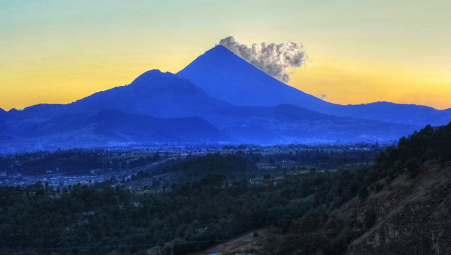 Ascenso nocturno al volcán Santa María | Agosto 2017
