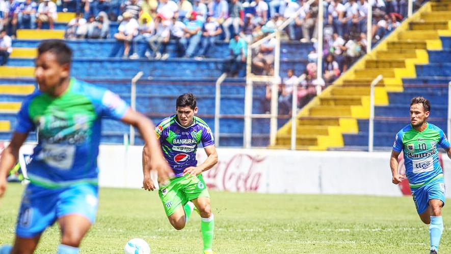 Partido de Suchitepéquez vs Antigua por el Torneo Apertura  Agosto 2017