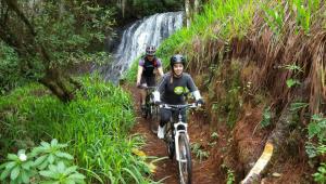 Viaje para hacer rappel en Cascadas de Tatasirire y ciclismo de montaña en Jalapa | Septiembre 2017