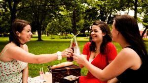Picnic vegano en Parque Minerva | Agosto 2017