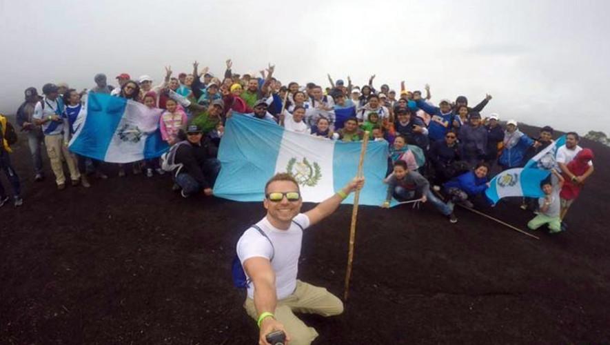 Ascenso a Volcán Pacaya por el Día de la Independencia   Septiembre 2017