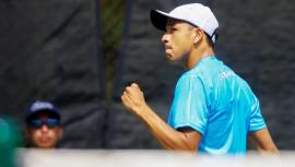 Wilfredo busca su segundo título de la temporada en el torneo que disputa en Portugal.  (Foto: Javier Herrera/Rackets & Golf)